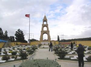 Ein Friedhof auf der Halbinsel Çanakkale. Foto: Gerhard Grüßhaber (2009)