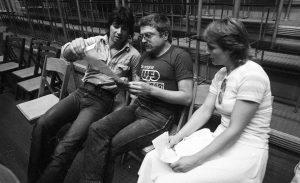 Bródy János, Szörényi Levente, Kovács Kati. 1978-ban, Foto: Fortepan adományozó URBÁN TAMÁS via Wikimedia Commons
