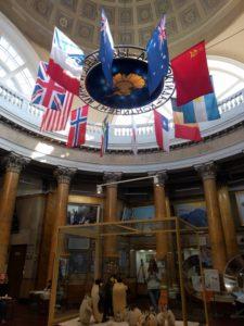 Museum der Arktis und Antarktis, erster Stock. – Foto: Agnes Stelzer