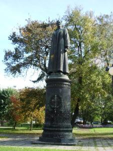 Denkmal für Feliks Dzierżyński im Moskauer Skulpturenpark Muzeon, Foto: Andreykor, CC-BY-SA-3.0, via Wikimedia Commons